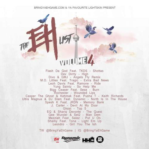 The Eh List Vol. 4 - Official Back Cover